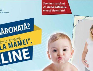 Webinarul Scoala Mamei - Biogenis - Online